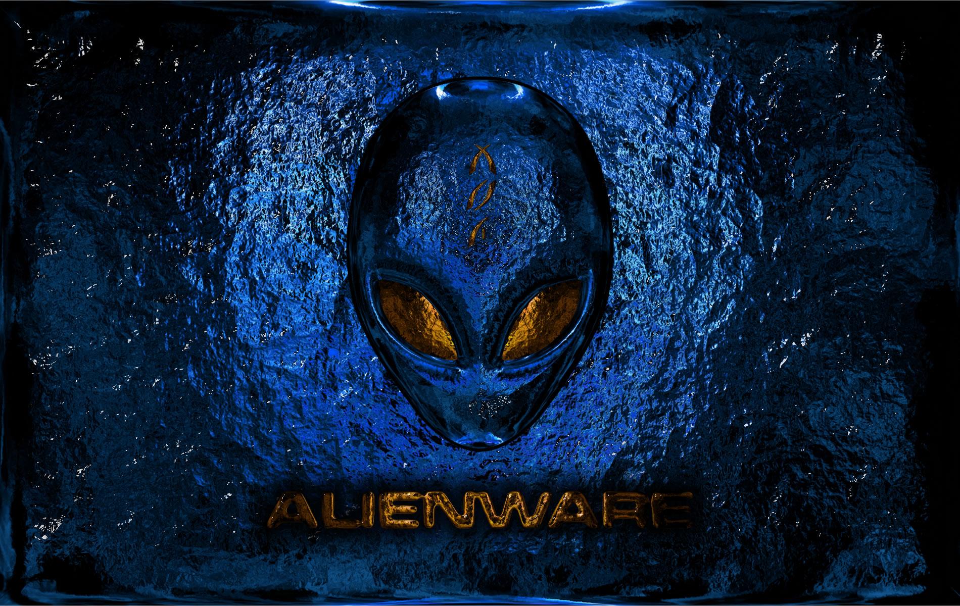 Alienware Blue Computer Wallpapers Desktop Backgrounds 1900x1200 1900x1200