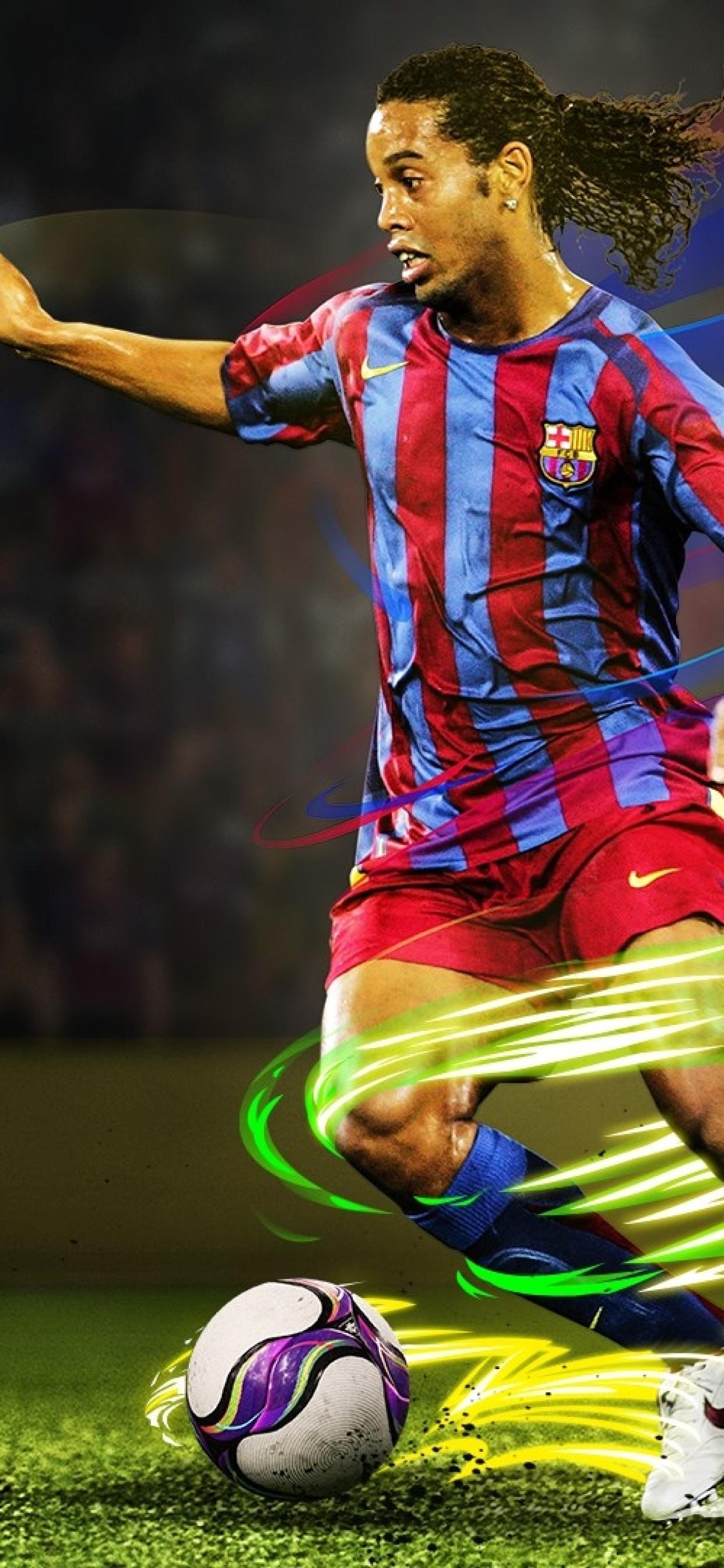 1242x2688 Ronaldinho In eFootball Pro Evolution Soccer 2020 Iphone 1242x2688