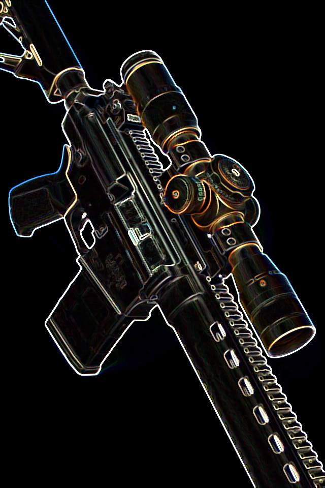 Cool Police Background >> iPhone Gun Wallpaper - WallpaperSafari