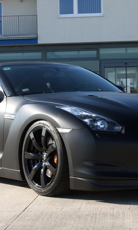 Nissan GTR Matte Nissan GTR Matte 480x800