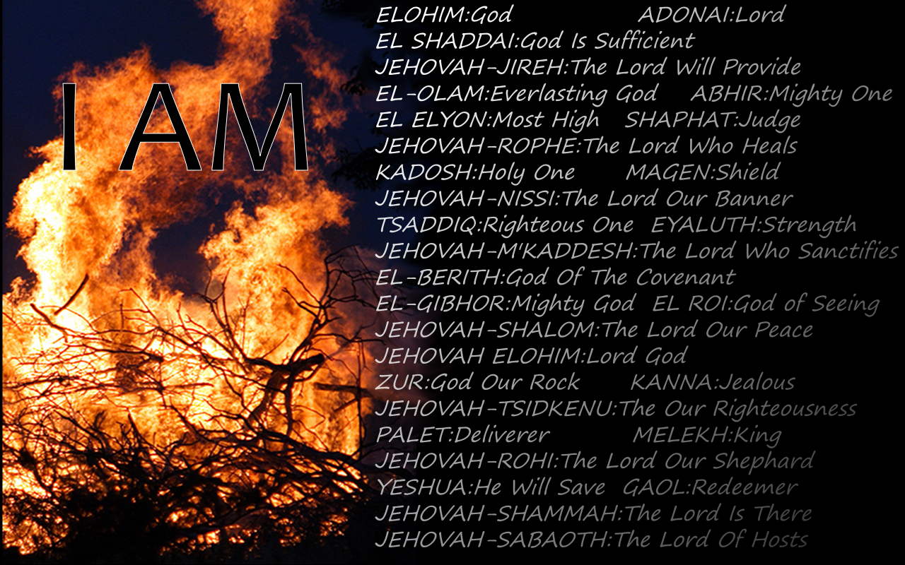 Names Of God: Names Of God Wallpaper