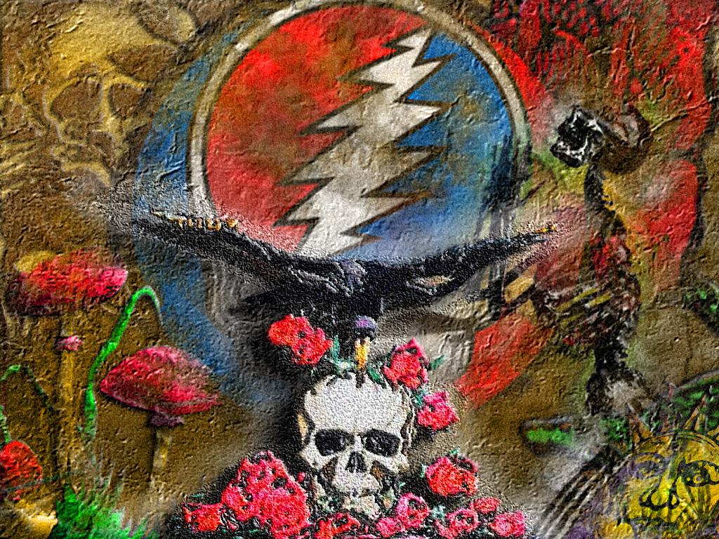 Pin Grateful Dead Wallpaper 1024x768