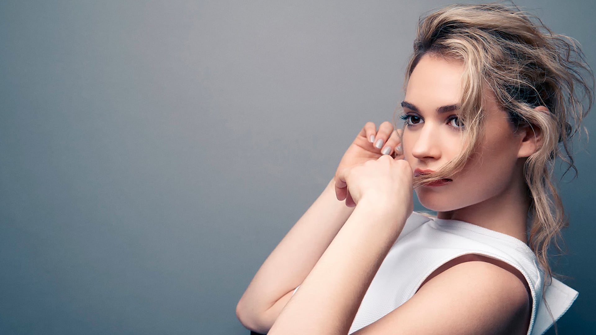 Lily James wallpapers HD Download 1920x1080