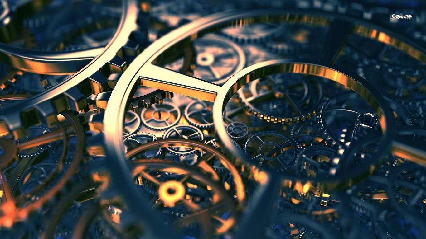 Machine Gears HD Sublime Wallpaper   Download Machine 1366x768
