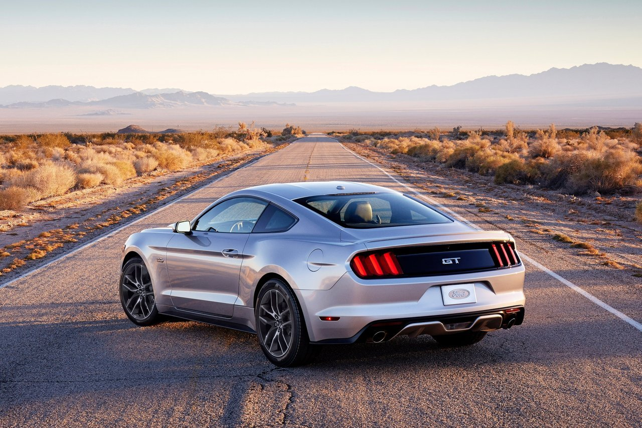 2014 ford mustang gt wallpaper rear view