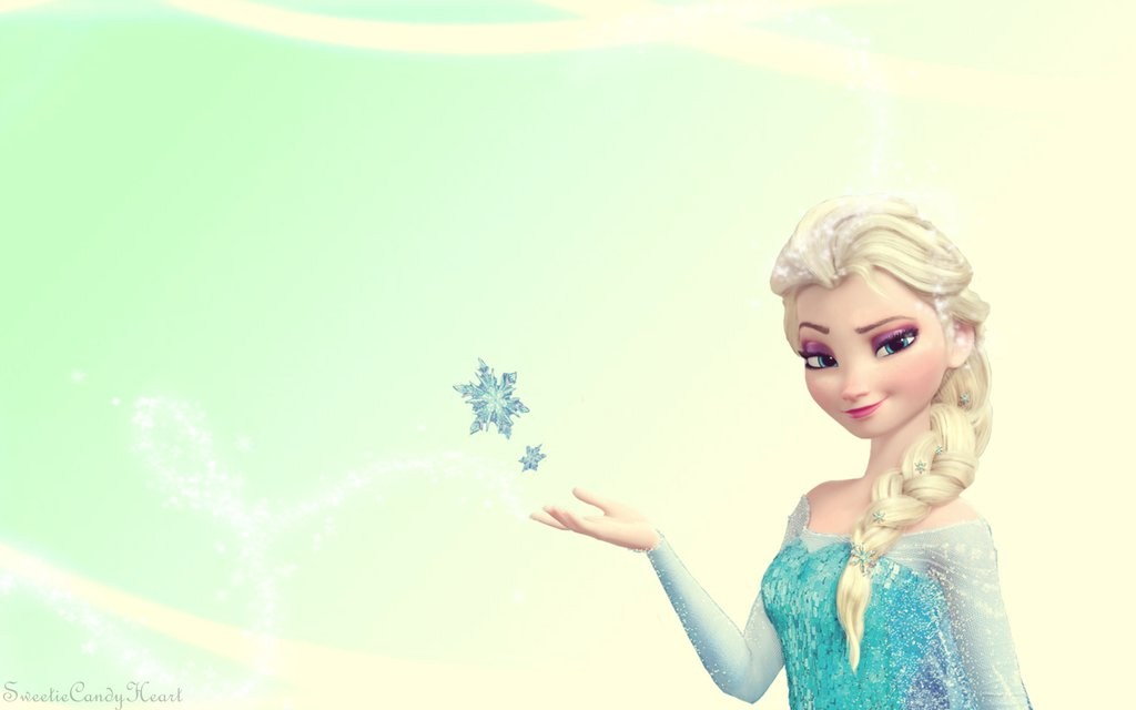 Disneys Frozen   Elsa Wallpaper by SweetieCandyHeart 1024x640