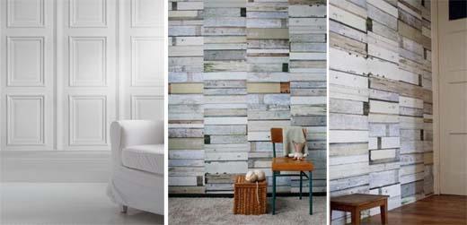 Paneling With Wallpaper Look Wallpapersafari