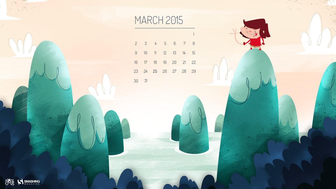 Desktop Wallpaper Calendars March 2015 Smashing Magazine 1280x720