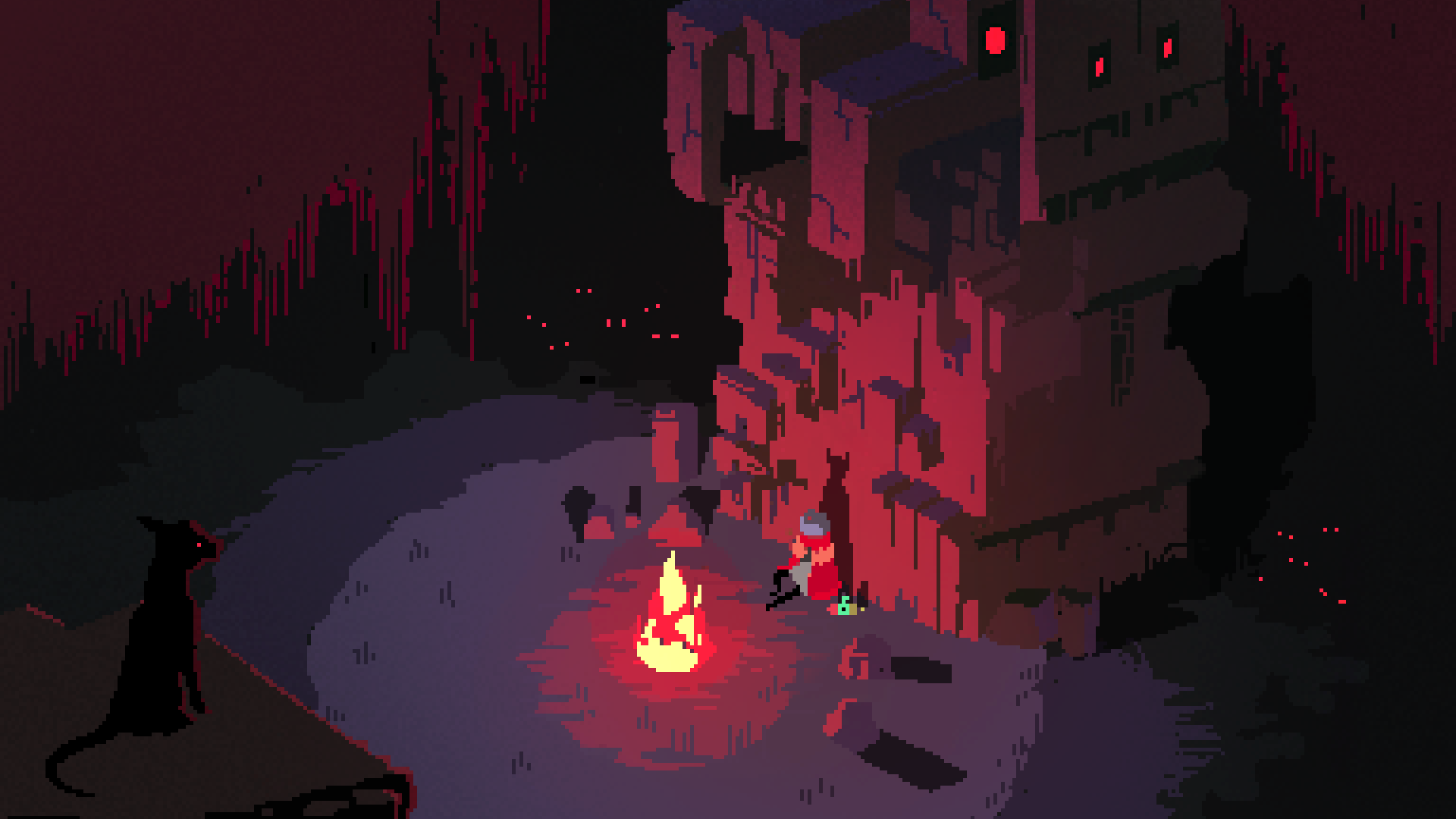 Hyper Light Drifter Video Game Desktop Wallpaper 61522 1920x1080px 1920x1080
