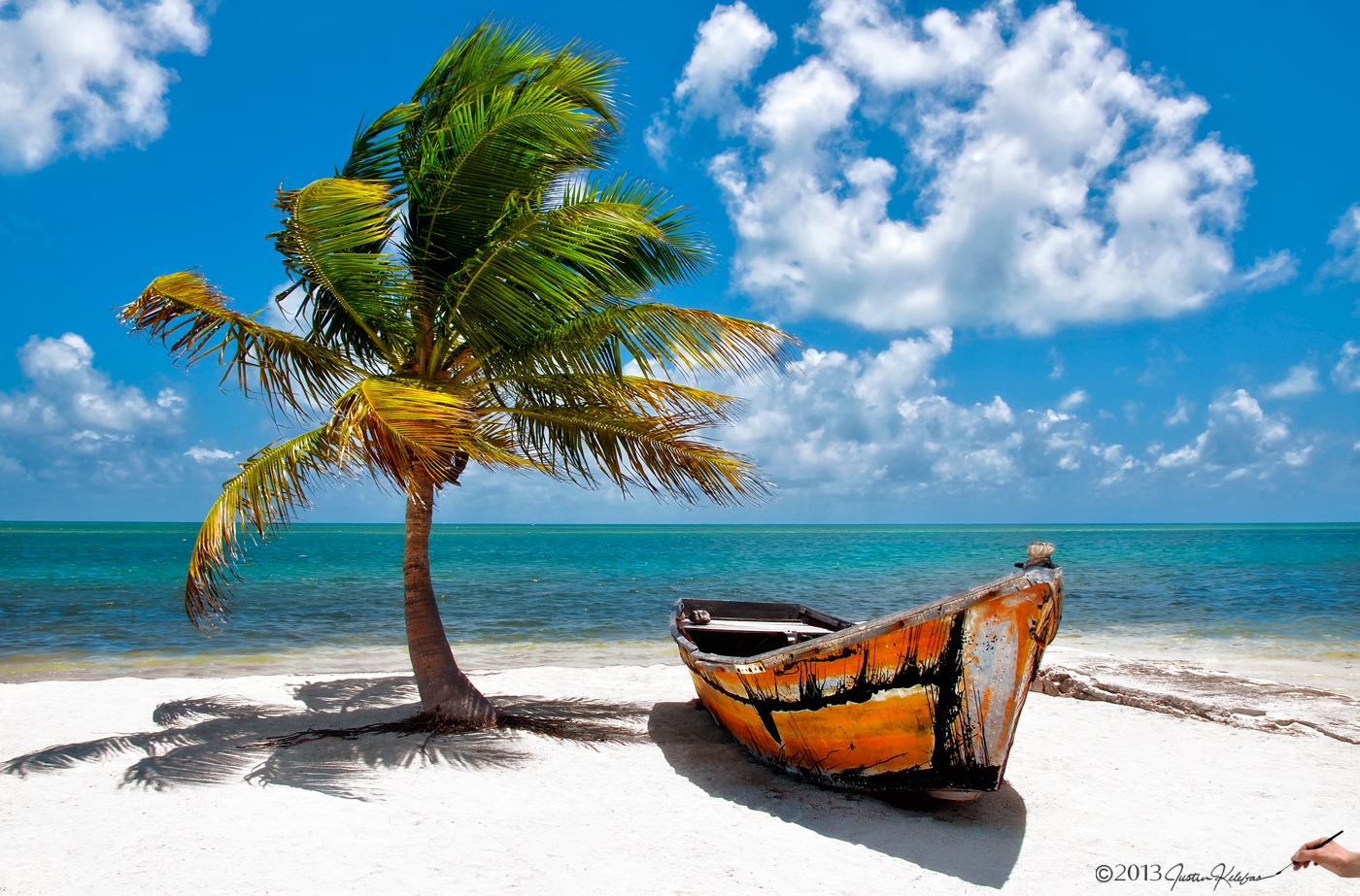 Florida Beach Scene Wallpaper - WallpaperSafari