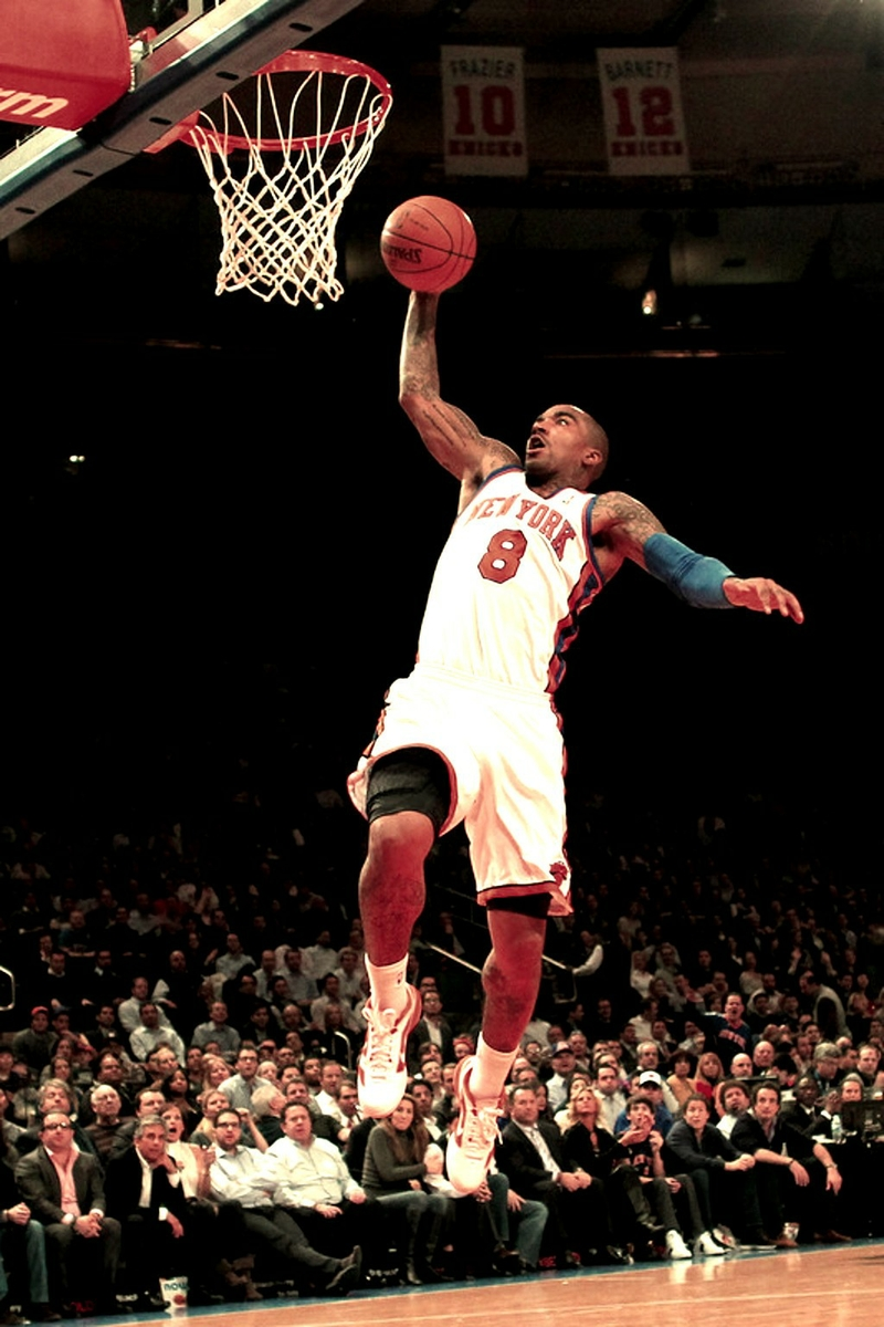 NBA Dunking Wallpaper - WallpaperSafari