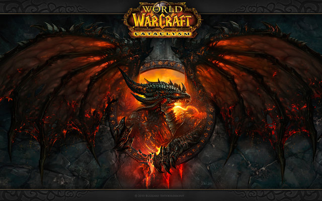 World of Warcraft Cataclysm Wallpaper from Blizzard Entertainment 640x400