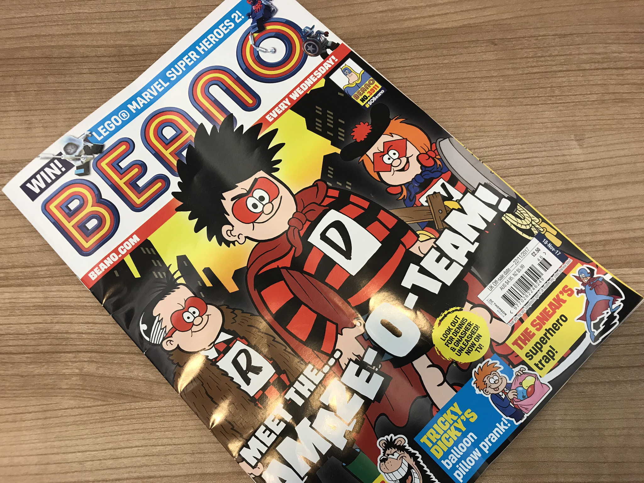 11 year old calls out sexism in the Beano and the comic agrees and 2048x1536