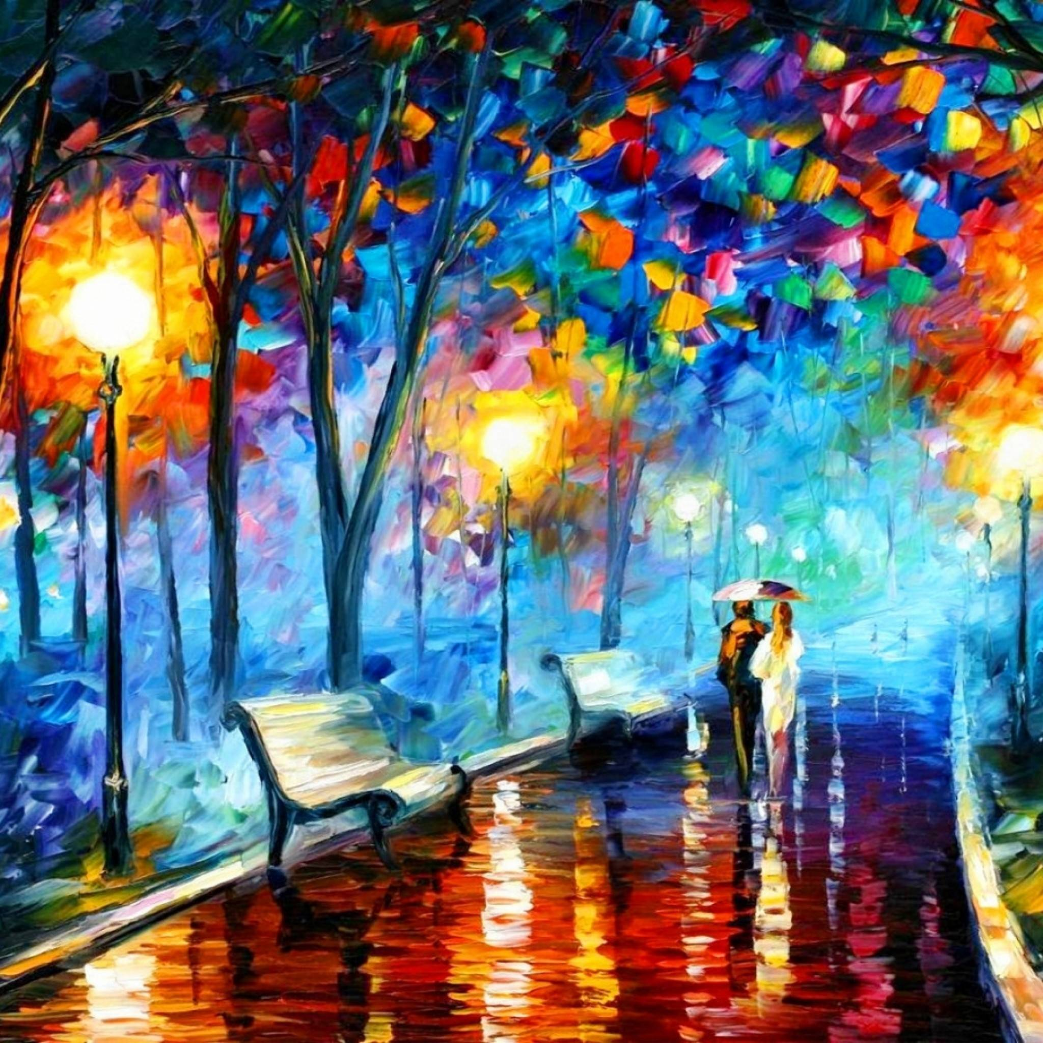 Leonid Afremov Wallpapers 2048x2048