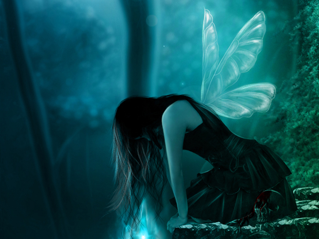 Dark Fairy Wallpaper Backgrounds 11 Cool Wallpaper   Hivewallpapercom 1024x768