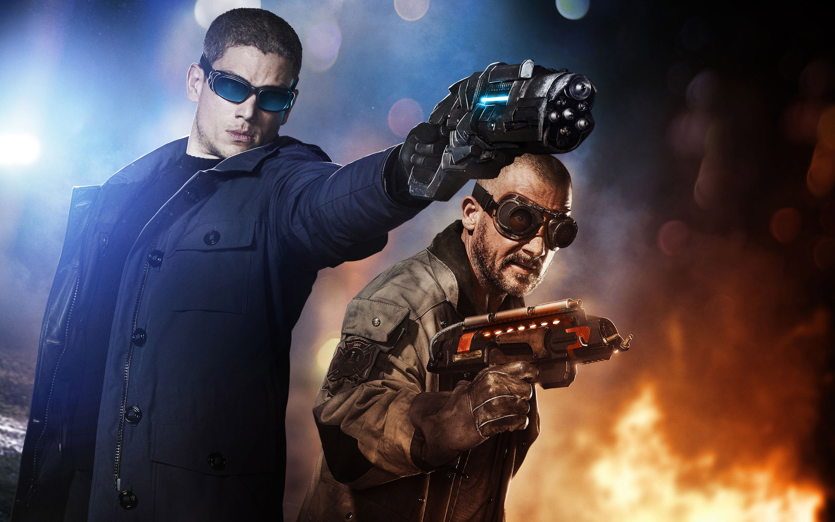 Captain Cold In The Flash Wallpaper HD Wallpapers 2880x1800