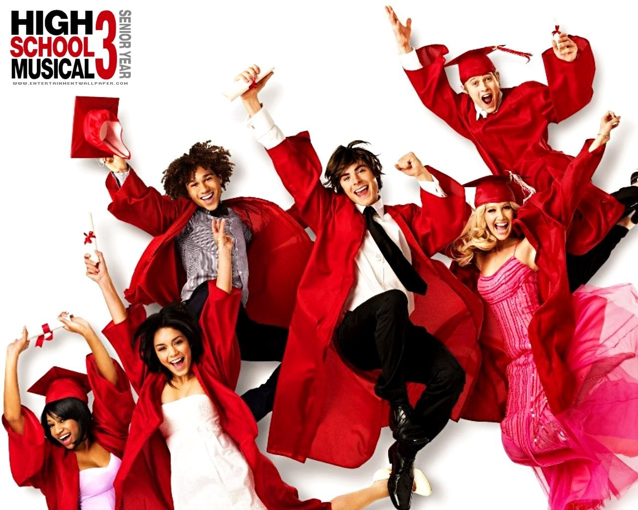 High School Musical   High School Musical 3 Wallpaper 7064667 1280x1024