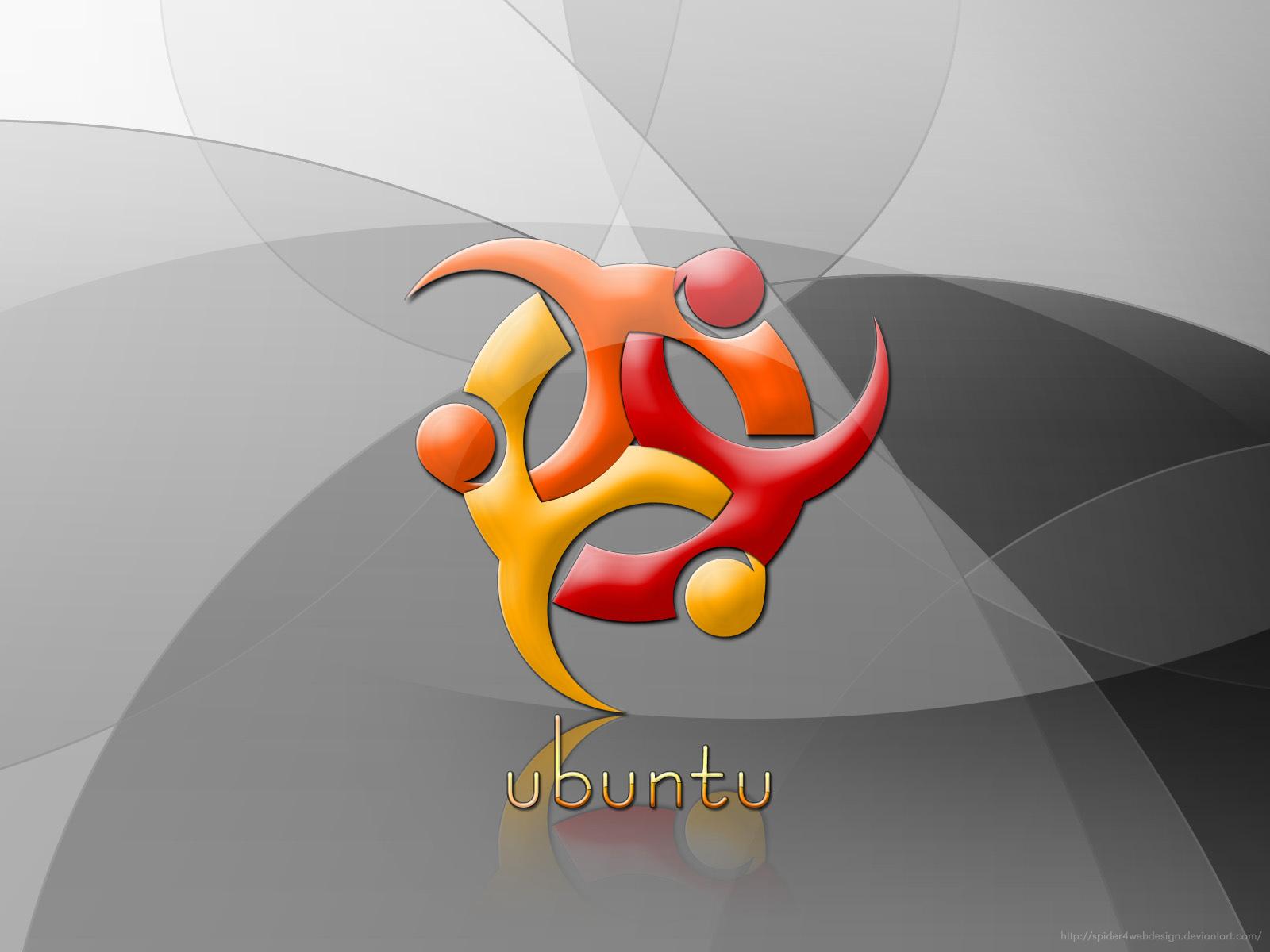 ubuntu black silver brown ubuntu wallpapers 29922 2560x1600 ubuntu 10 1600x1200