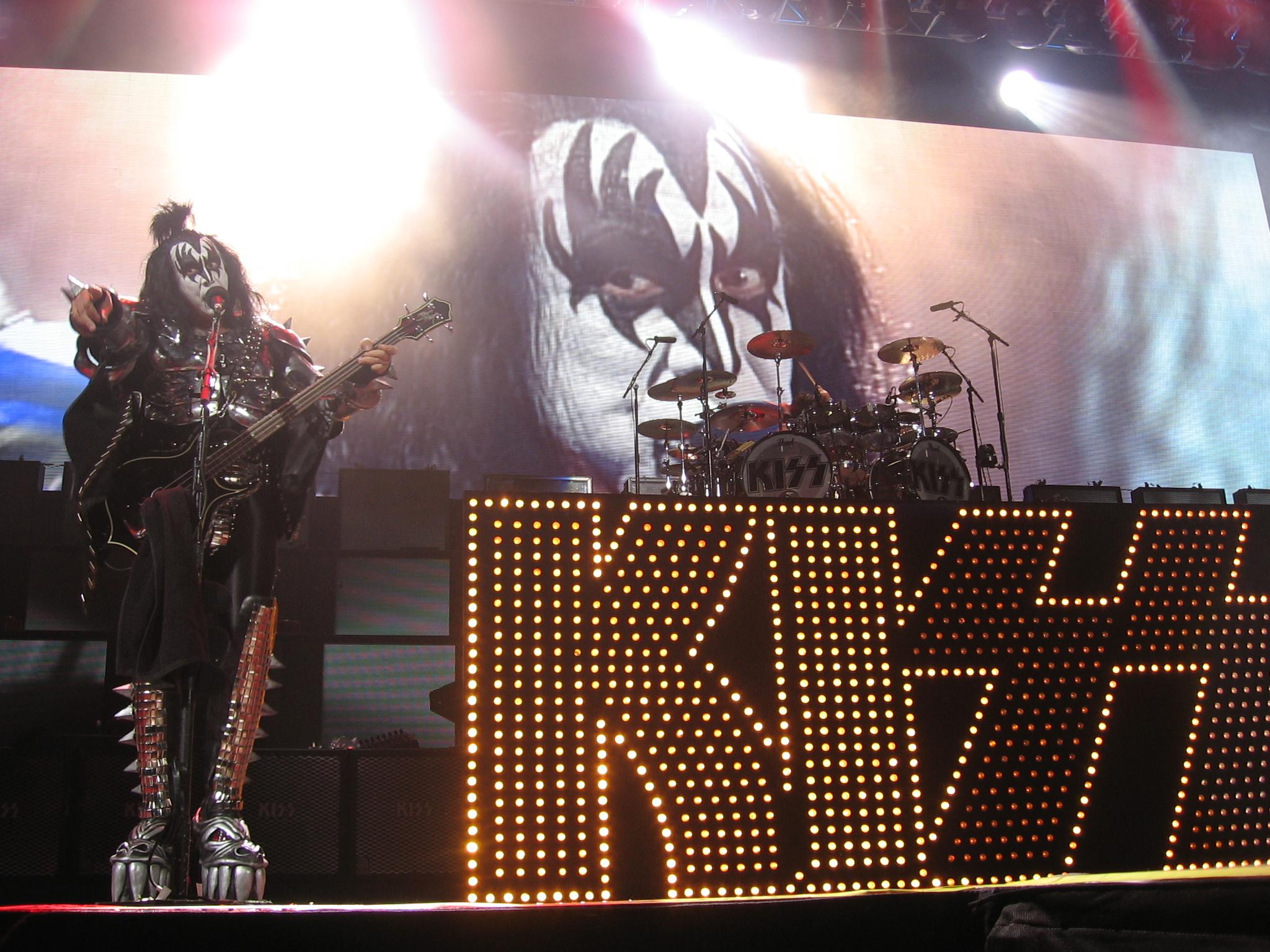 Kiss heavy metal rock bands concert guitar k wallpaper background 2048x1536