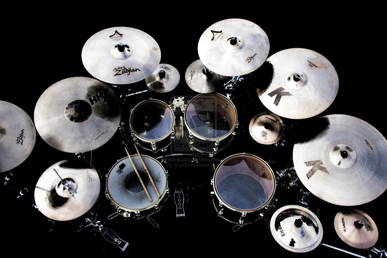 Обои для рабочего стол с барабанщиками