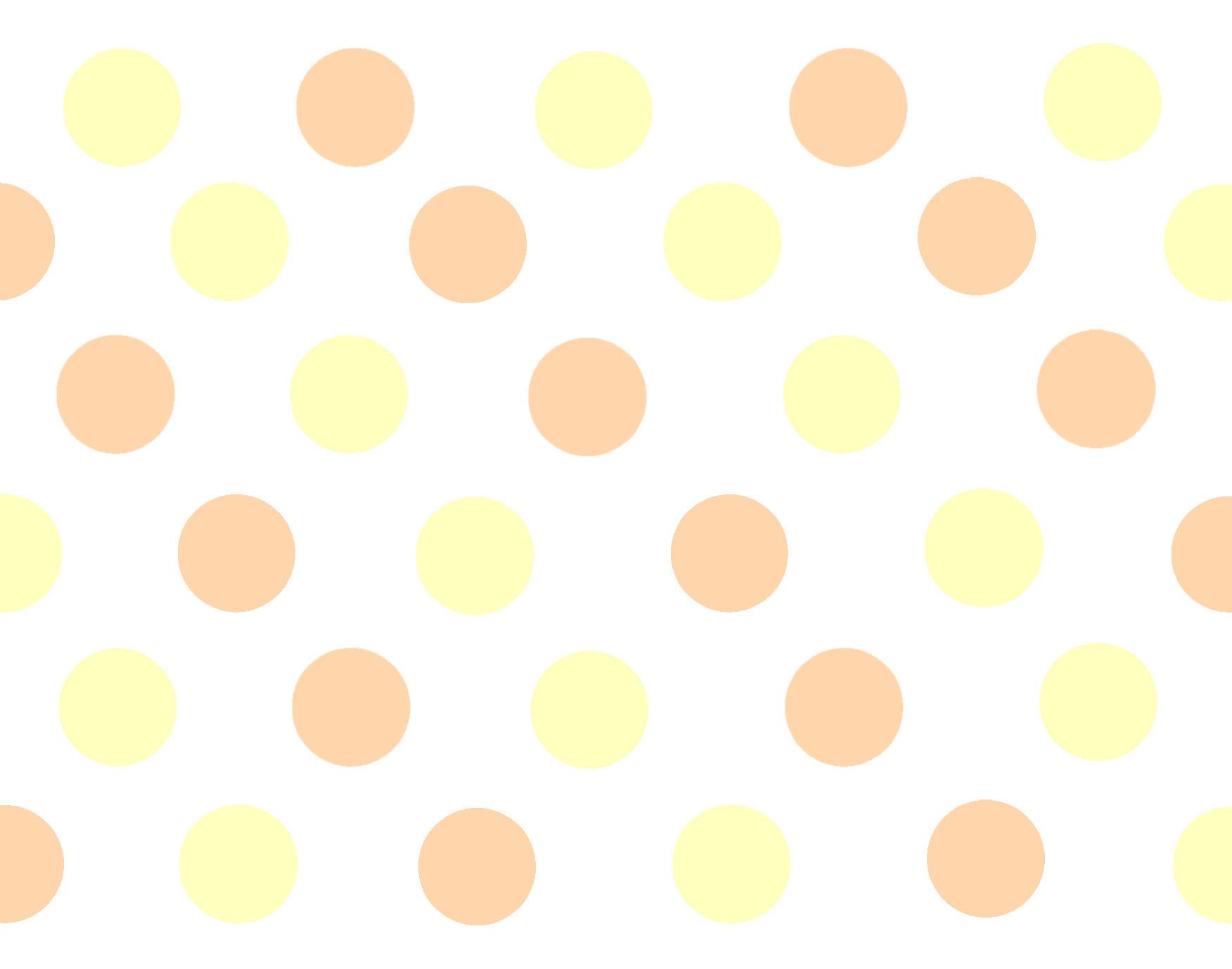 Yellow Polka Dot Wallpaper Wallpapersafari