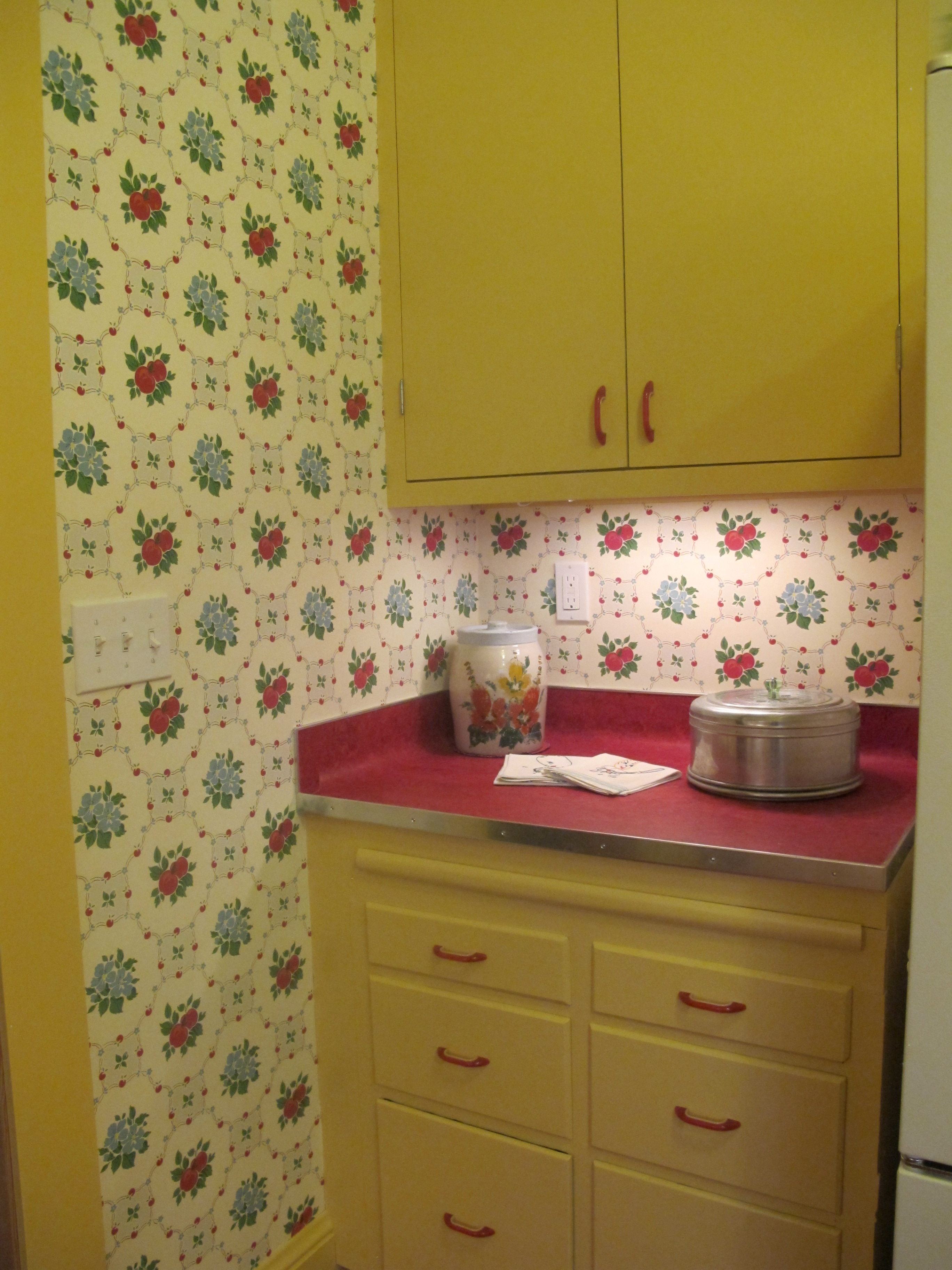 Kitchen Kitchen Wall Kitchen Wallpaper Retro Vintage Kitchen Wall 2736x3648