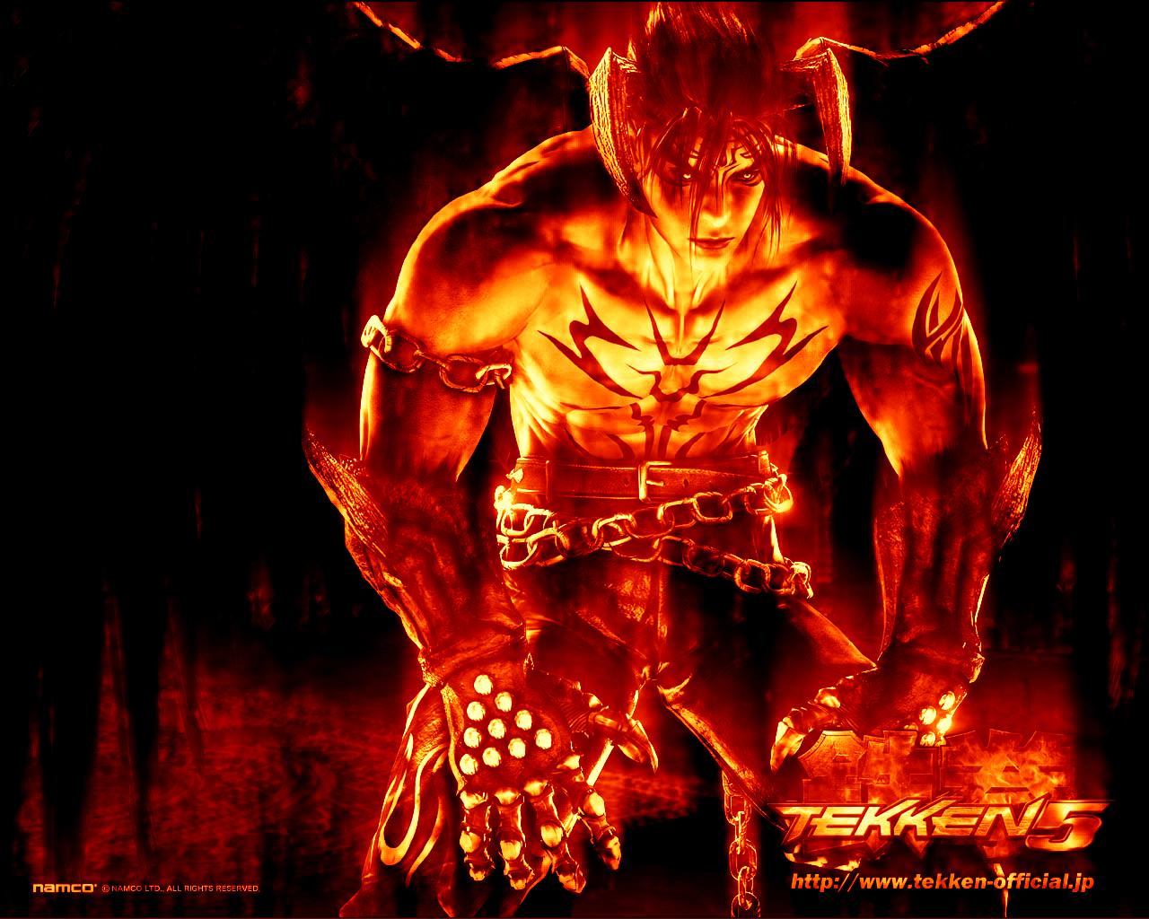Tekken DEVIL JIN flames 4 by Amanda18Sato 1280x1024