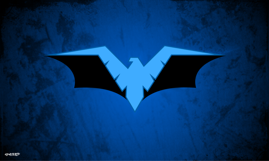 Go Back Gallery For Nightwing Red Logo Wallpaper 1024x612