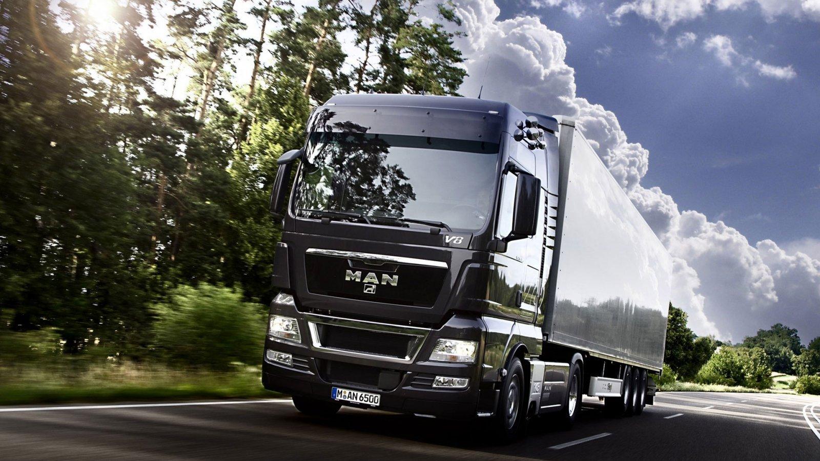 HdeJ Desktop Wallpapers Vehicles028 trucks MAN Truck 1600x900 1600x900