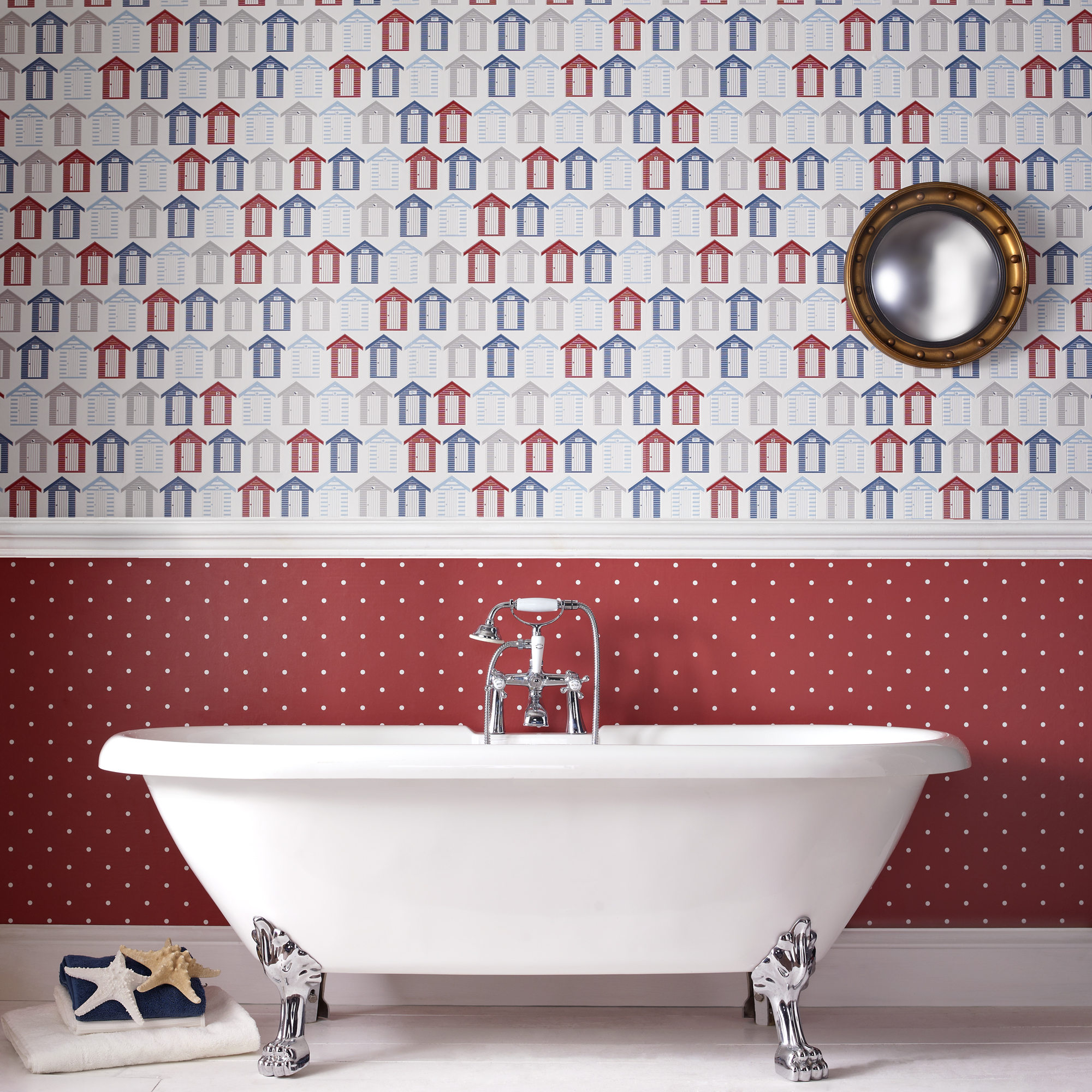 bathroom wallpaper The Treasure Hunter   well designed quirky and 2000x2000