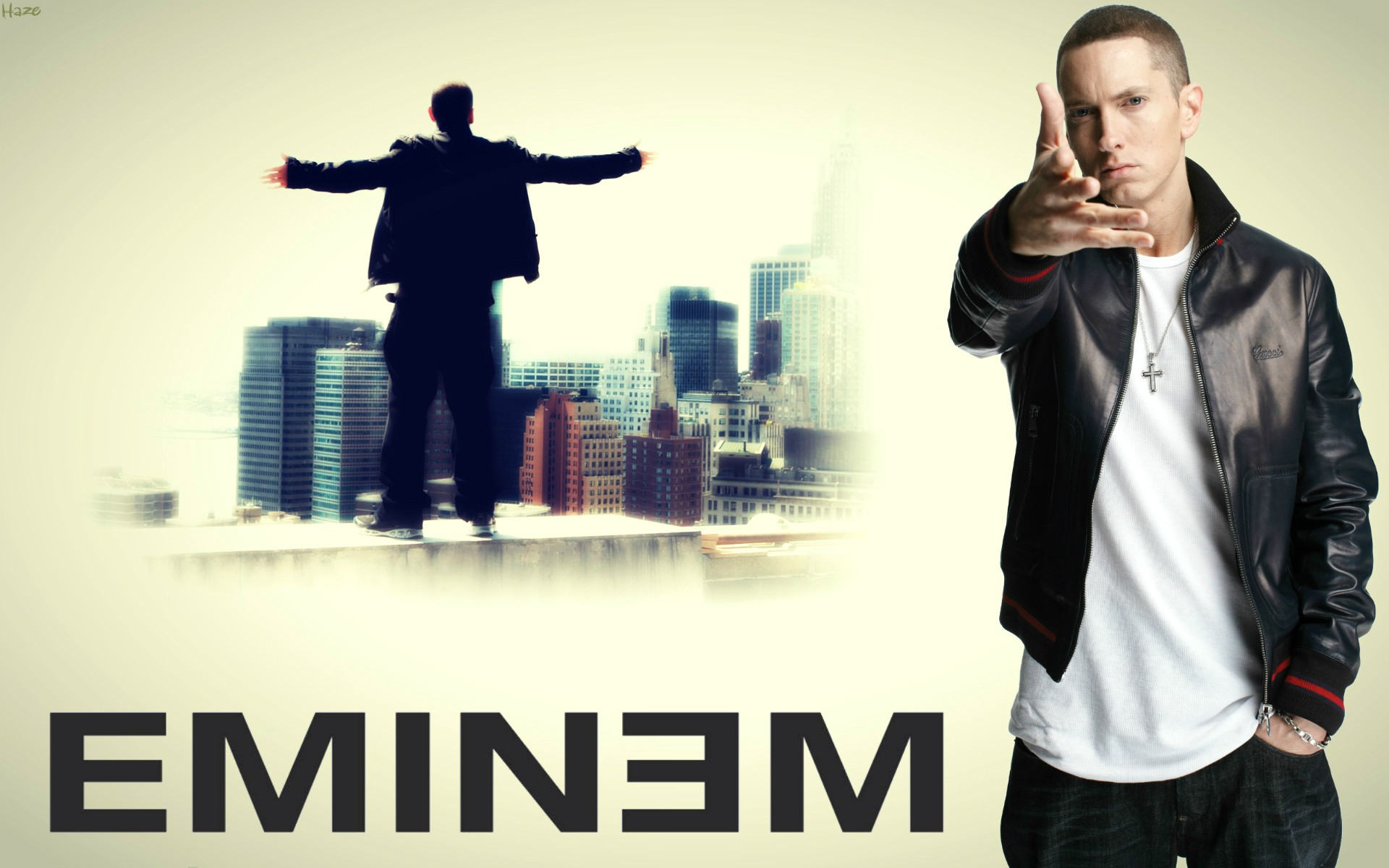 Eminem Not Afraid Cool Wallpaper HD Wallpaper WallpaperLepi 1920x1200