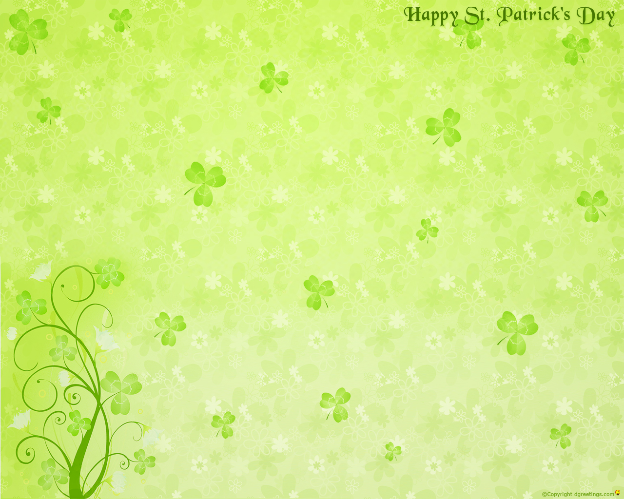 Free St Patricks Day Backgrounds Clipart Public Domain Holiday