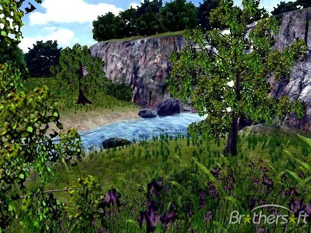 Live 3D Waterfall Screensaver Live 3D Waterfall Screensaver 640x480