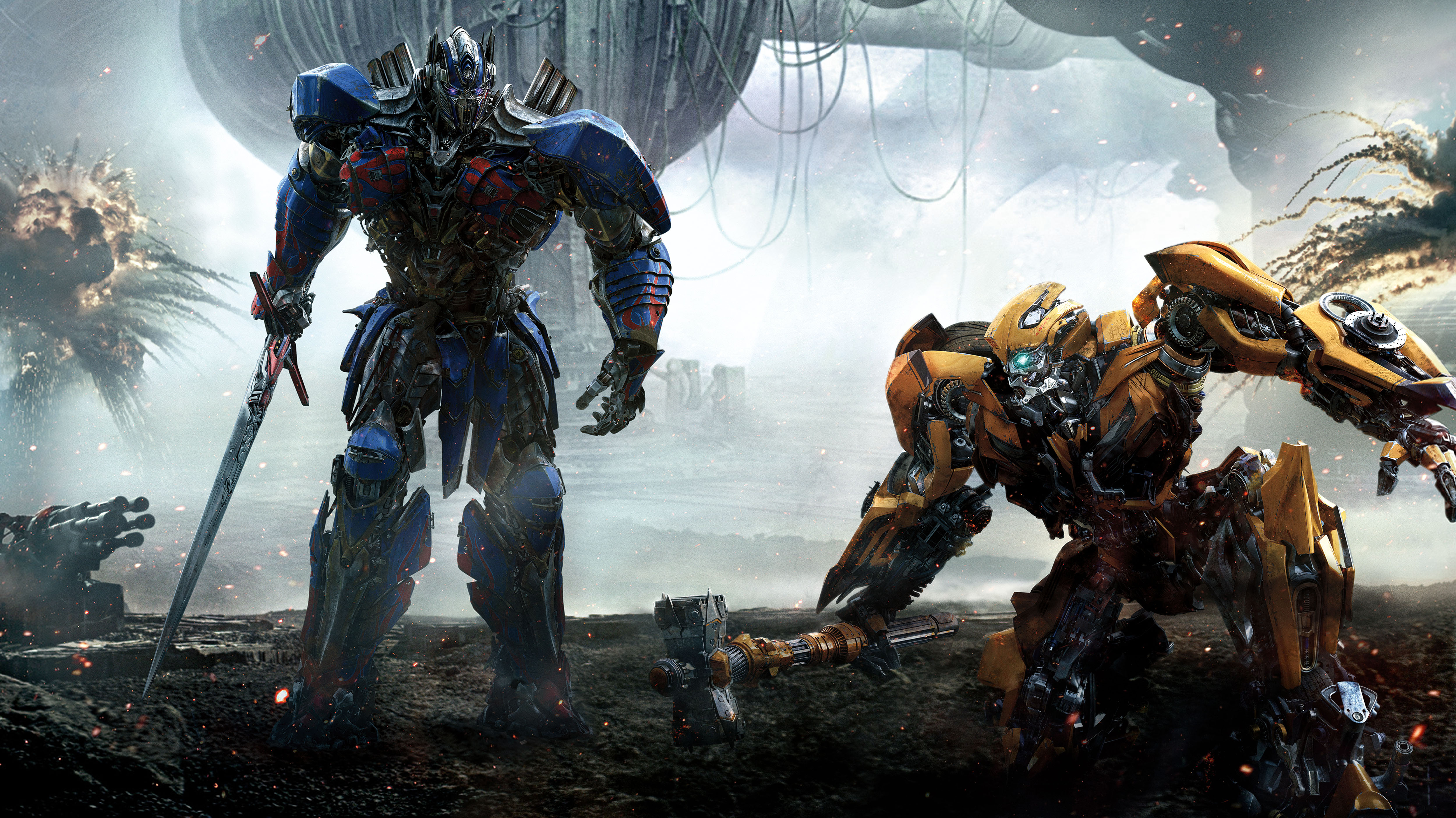 57 Transformers The Last Knight HD Wallpapers Background Images 5000x2808
