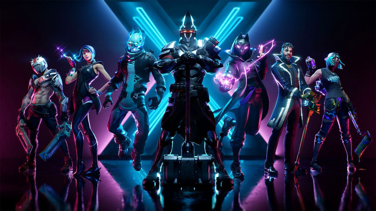 Fortnite some poster may have revealed the skin in the arrival in 1280x720