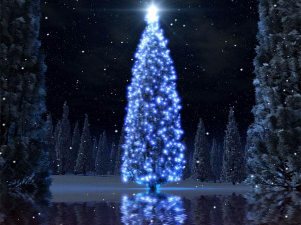 christmas tree animated wallpaper desktop wallpapers 131627jpeg 600x448