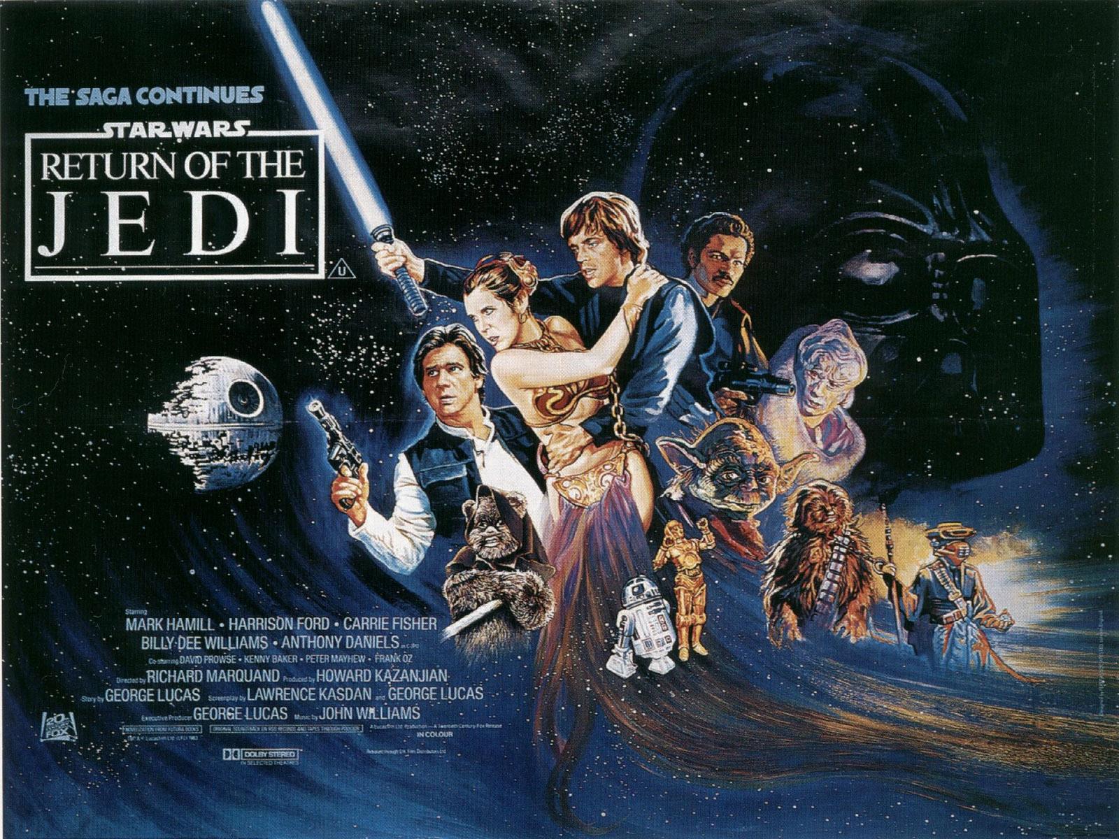 Star Wars Episode VI   Return of the Jedi   El Regreso del Jedi 1600x1200