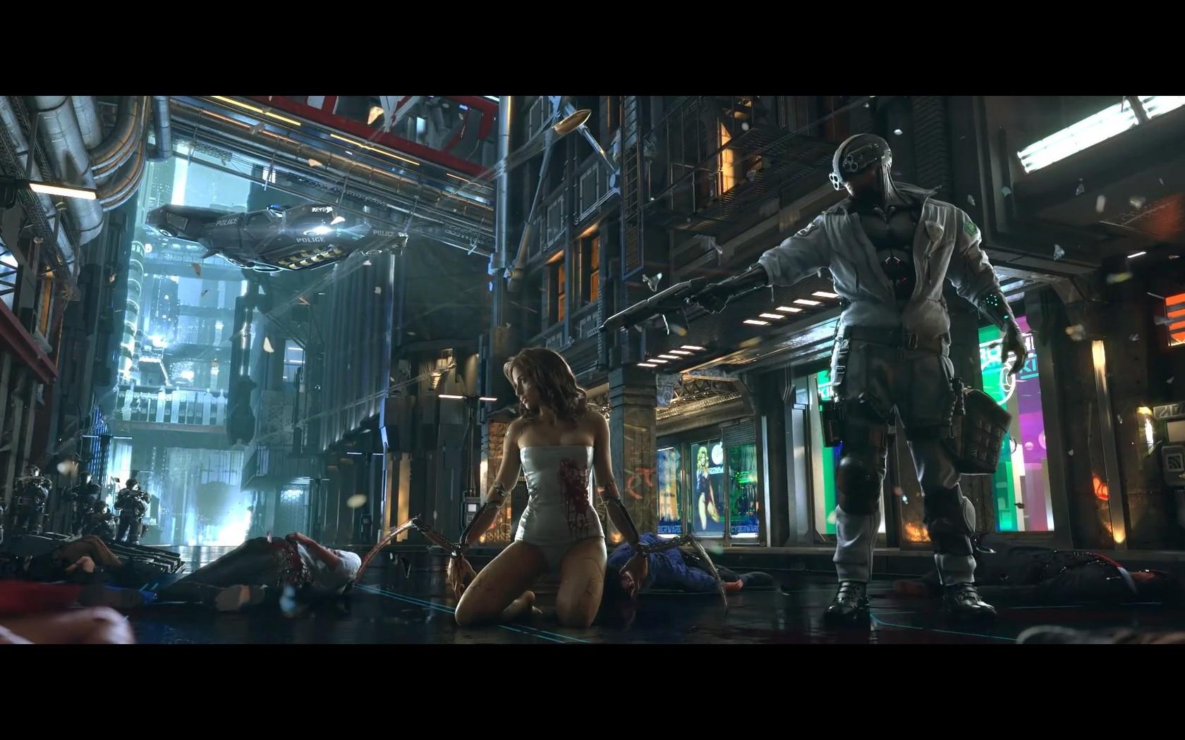 Fotos   Cyberpunk 2077 3 Wallpaper 1680x1050
