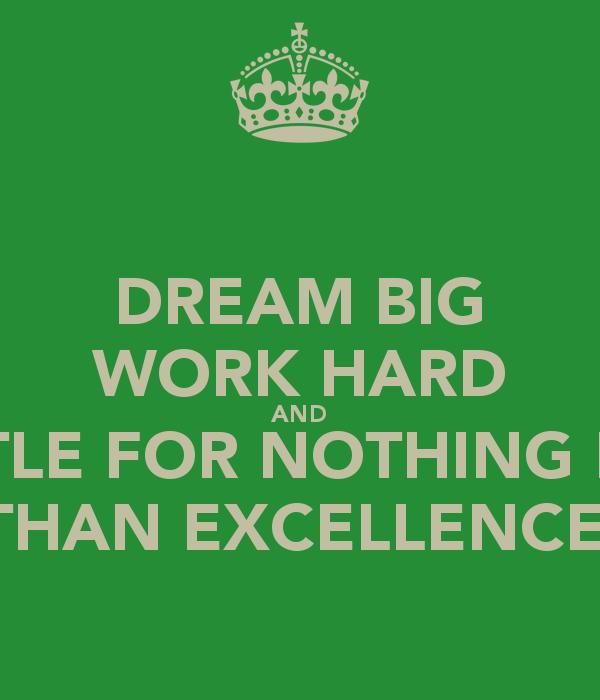 Work Hard Dream Big Wallpaper 600x700