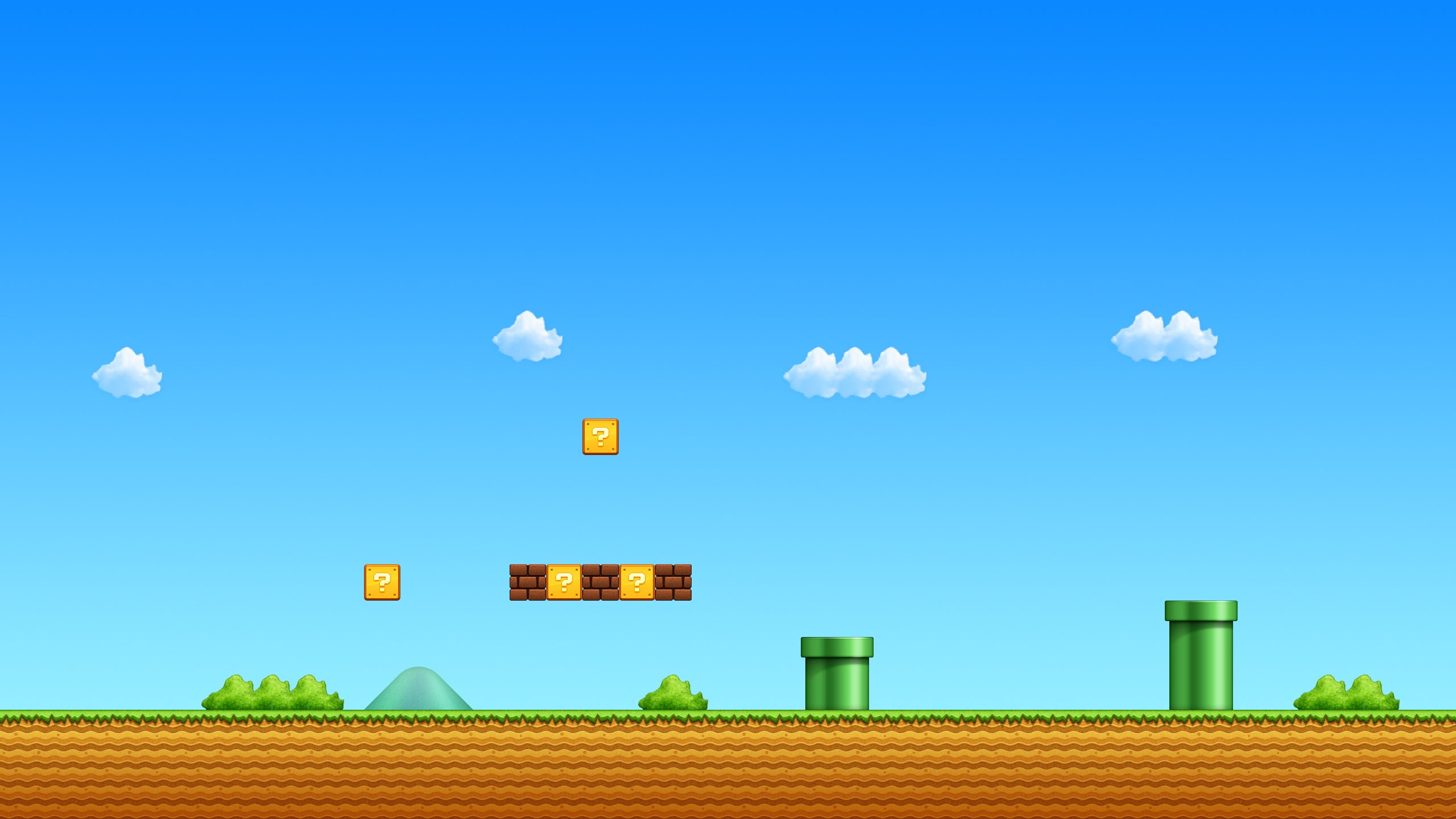 Super Mario Bros HD Wallpaper Background Image 2560x1440 ID 2560x1440
