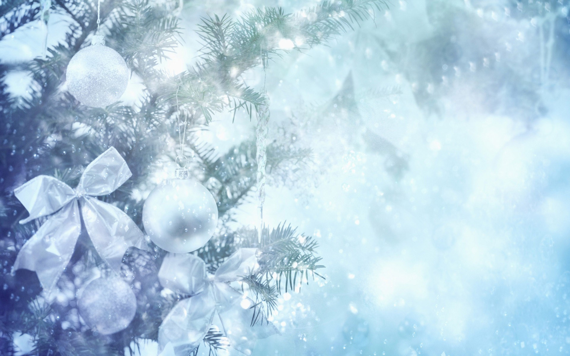 christmas ornaments winter background white holiday wallpapers 1920x1200