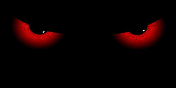 Evil Eyes Wallpaper Im tired in pain and angry 600x300