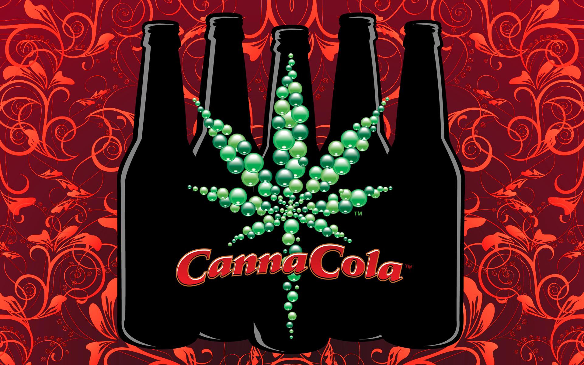 Canna Cola   Desktop Backgrounds Screeen Savers Print Quality Logos 1920x1200