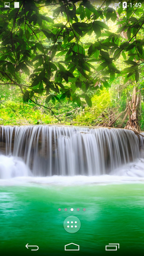 Waterfalls 4K Live Wallpaper APK by lymphoryx Details 506x900