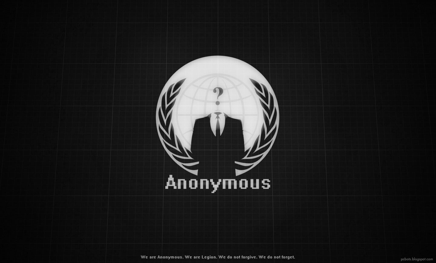Anonymous wallpaper hd   We are Anonymous We are Legion We do not 1440x869