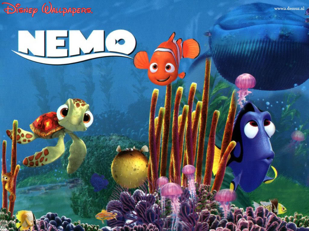Finding Nemo Wallpaper Desktop USELLA 1024x768