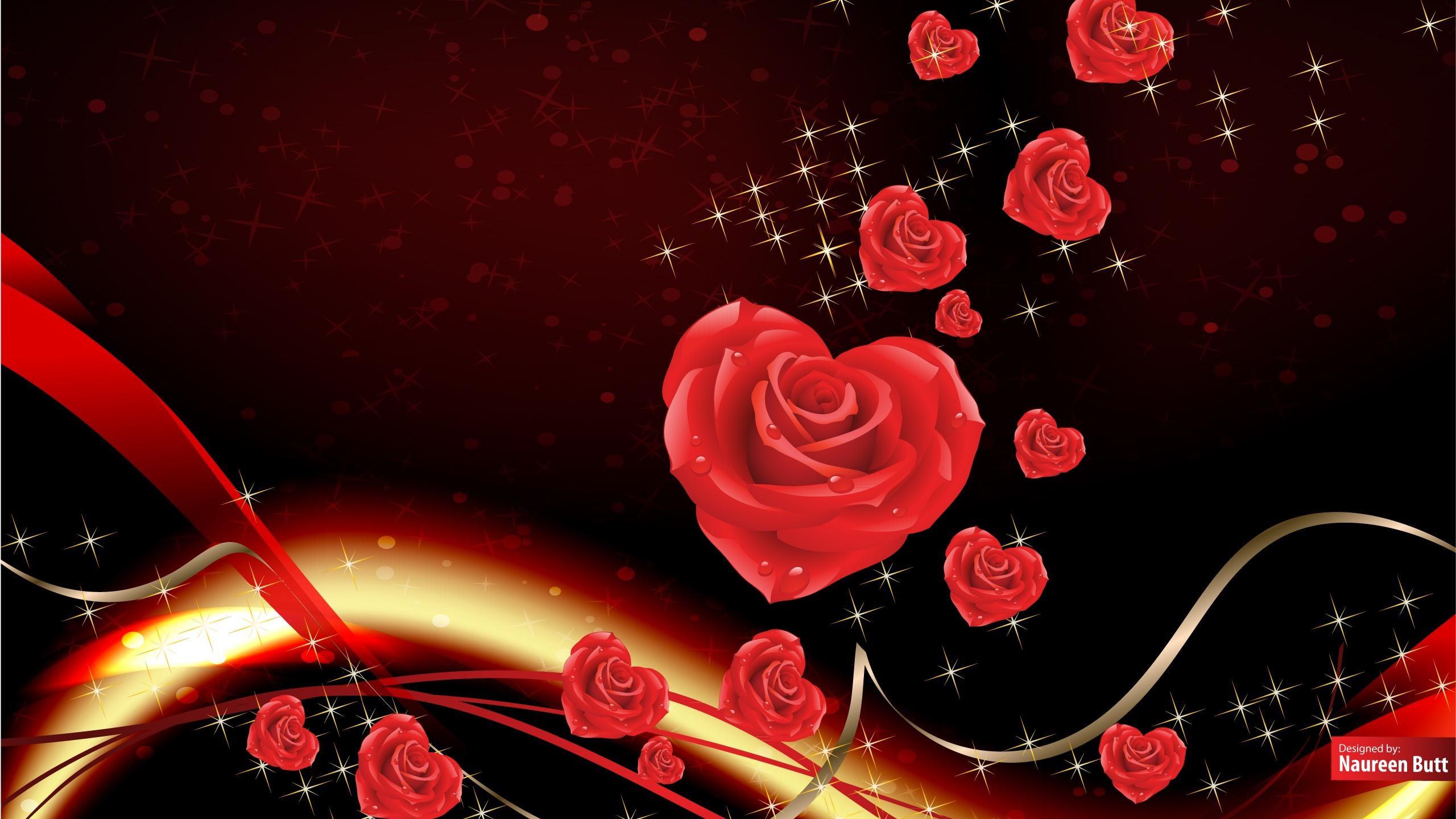 2560x1440 Happy Valentines Day desktop PC and Mac wallpaper 2560x1440