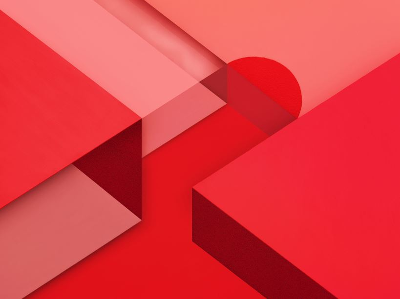 android m wallpaper text rotes wallpaper 819x613