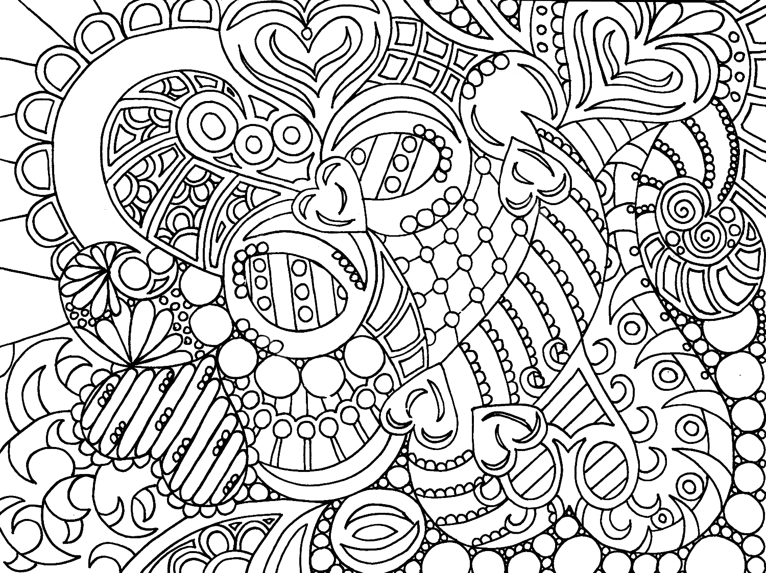 coloring pages for adults hundred coloring books being published 1500x1123