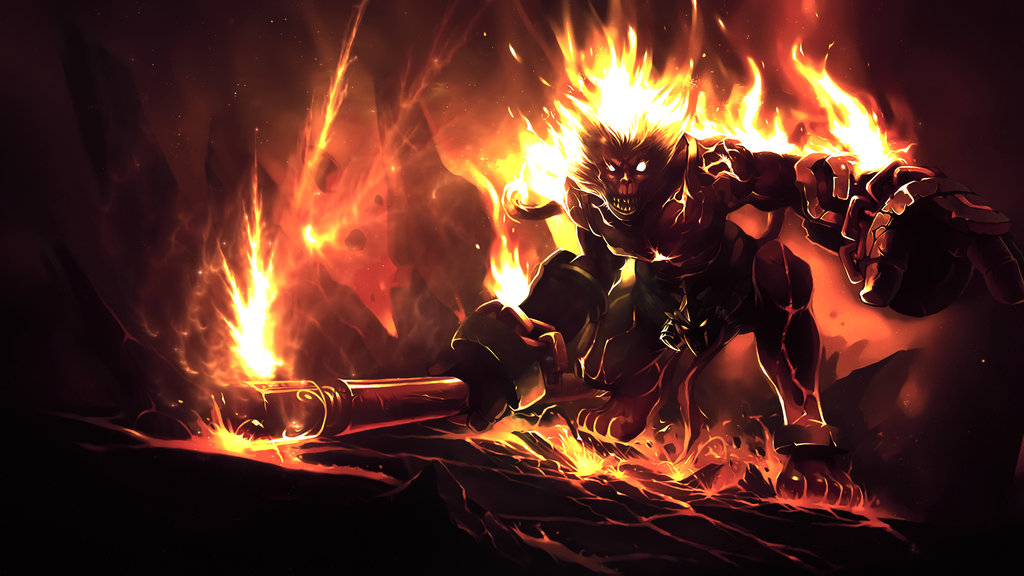 of legends   volcanic wukong wallpaper by iamsointense d5lc4bmjpg 1024x576